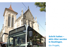 Take the bus! (Leaflet in German)