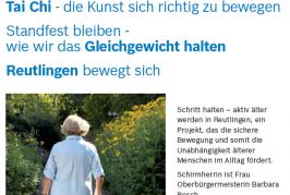 Tai Chi-leaflet (German)
