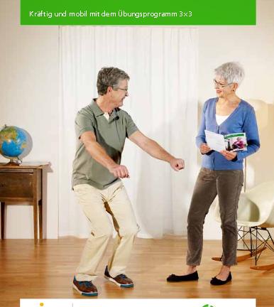 3×3 exercise leaflet (German)