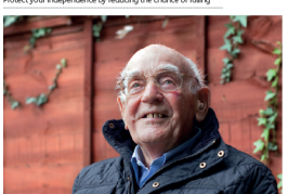 Falls Free Plan – self assessment of risk for Older People (English)