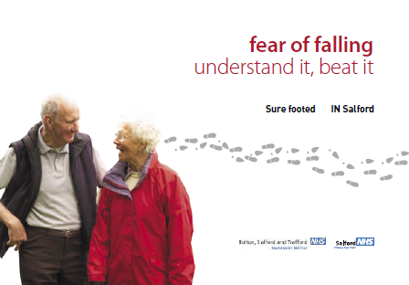 Fear of Falling Leaflet for Older People (English)