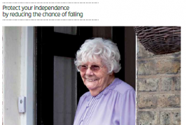 Make Your Home Falls Free – Leaflet for Older People (English)