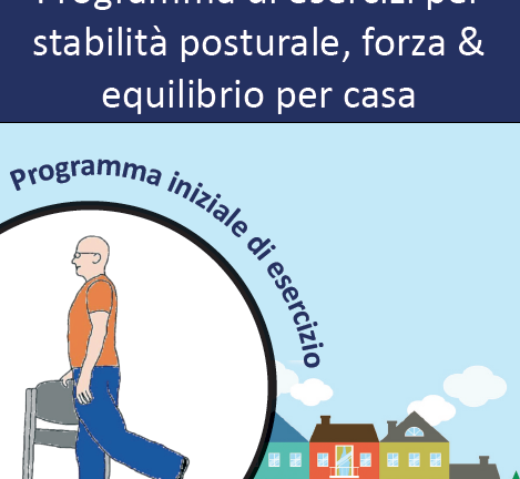 Strength and Balance Home Exercise Booklet for Older People (Italian)