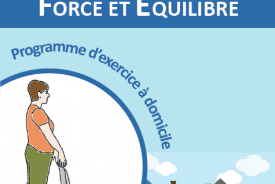 Otago Home Exercise Programme Booklet for Older People (French)