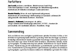 Activity guidelines (Norwegian)