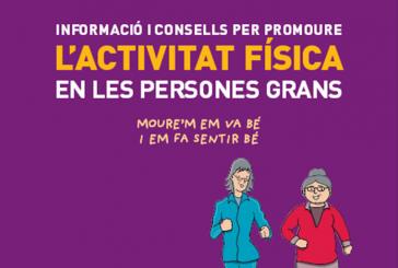 Informació i consells  per promoure l'activitat física en persones grans (Catalan)
