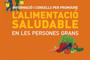 Informació i consells per promoure l'alimentació saludable en persones grans (Catalan)