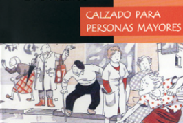 Guide for advice on selection of footwear for older people (in Spanish)