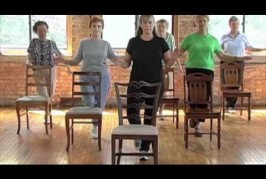 Balance and cool down exercises from the Stronger Seniors Chair Exercise Program