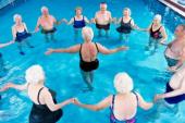 Elderly Swimming