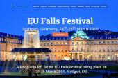 A few places left for the EU Falls Festival taking place on 24-25 March 2015, Stuttgart, DE.