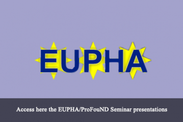 Launch of Partner News Section – ProFouND EUPHA EuroSafe Seminar 19.11.2014
