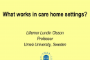 EUPHA/ProFouND Seminar Presentations-Lillemore Lundin-Olsson