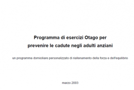 Otago Home Exercise Manual for Professionals (Italian)