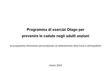 Otago Home Exercise Manual for Professionals (Italian)