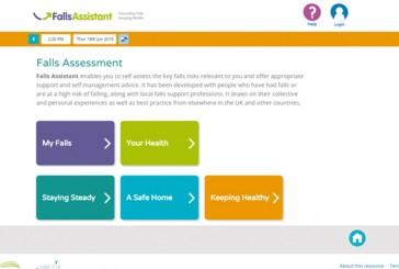 Falls assistant website