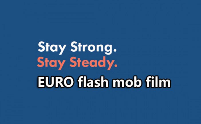ProFouND Stay Strong Stay Steady Campaign – EU Flash Mob
