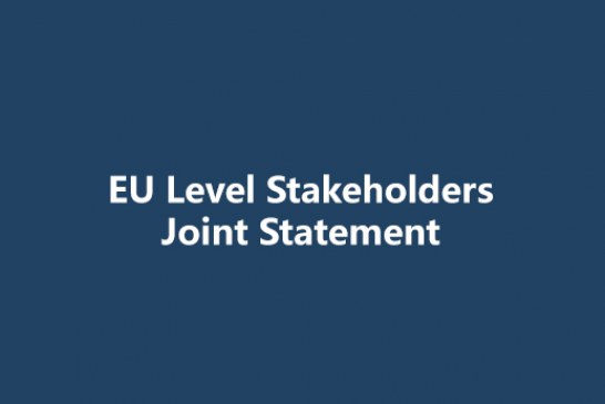 EU Level Stakeholders Joint Statement