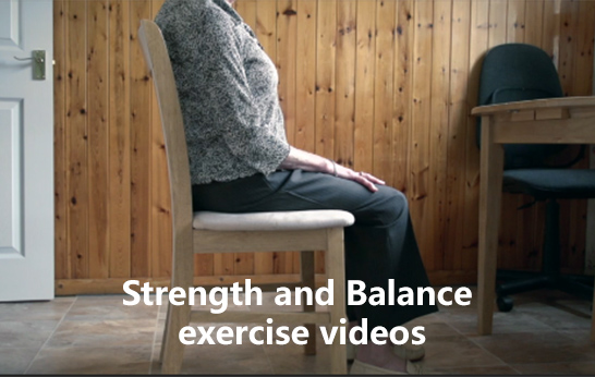 Strength and Balance exercise videos