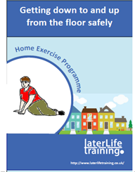 Getting down to and up from the floor safely (English)