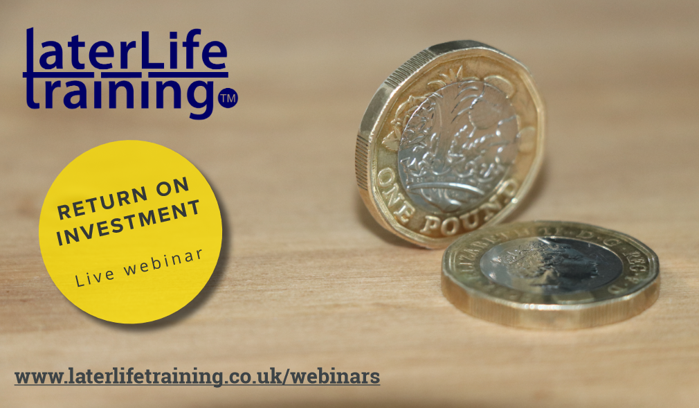Later Life Training Webinar