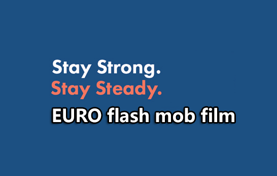 ProFouND Stay Strong Stay Steady Campaign - EU Flash Mob